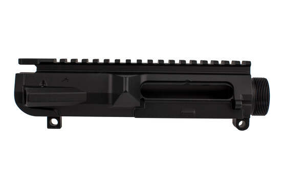 Aero Precision M5 stripped AR-308 threaded upper receiver is Texas edition engraved and black anodized